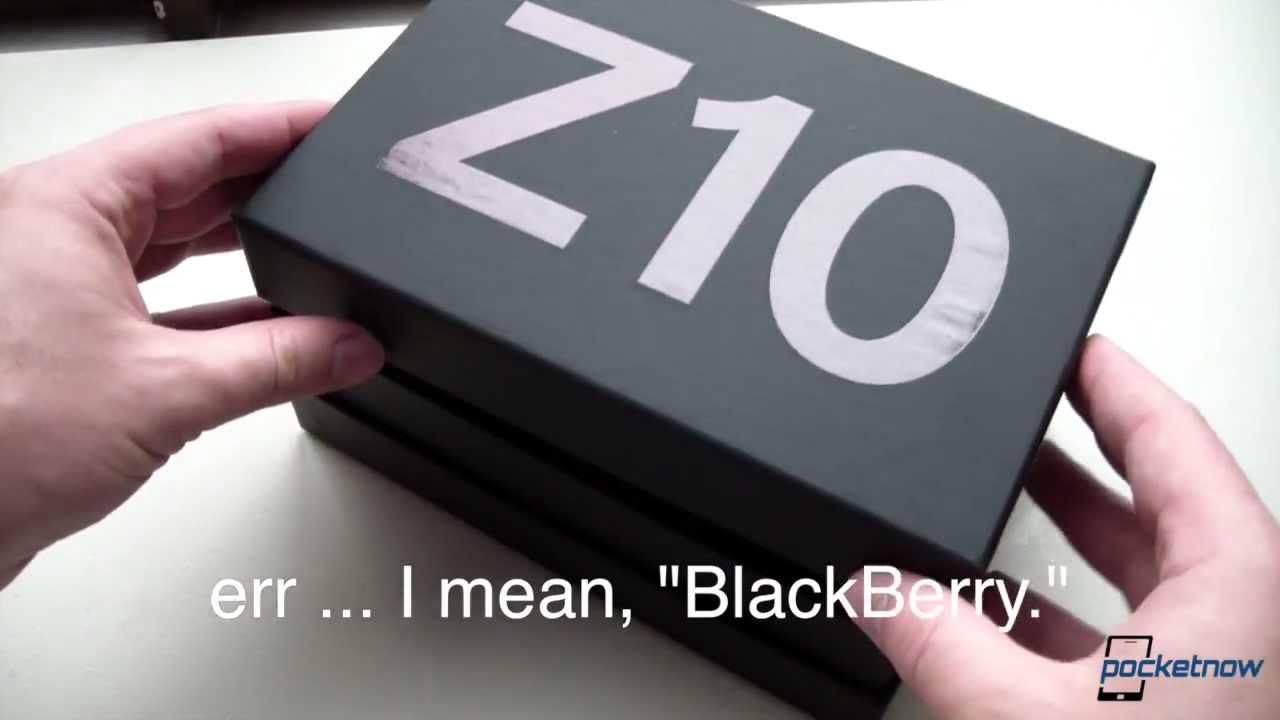 BlackBerry Z10 Review   Pocketnow