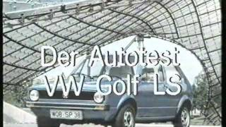 Repeat youtube video Test Golf 1 1974