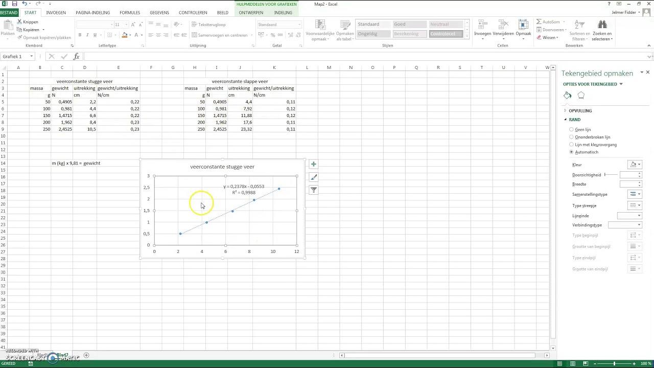 grafiek maken excel