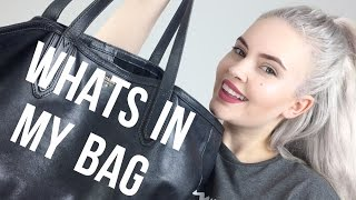WHATS IN MY BAG?! | Sarah Foxx