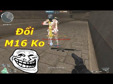 Cầm M16 Gạ Đổi 6 Lòng VIP + 3z VIP Và Cái Kết...