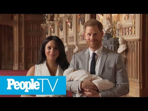 Prince Harry And Meghan Markle Introduce Their Newborn Son  PeopleTV