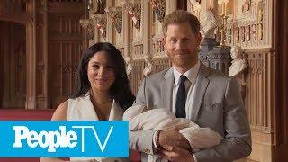 Prince Harry And Meghan Markle Introduce Their Newborn Son | PeopleTV