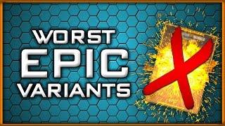 Top 5 Overrated Epic Variants in Infinite Warfare!
