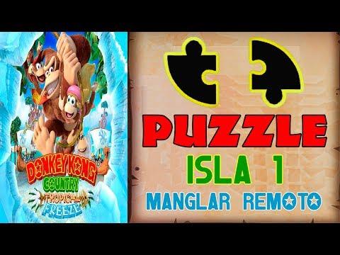 Piezas de PUZZLE - ISLA 1 - Donkey Kong Tropical Freeze