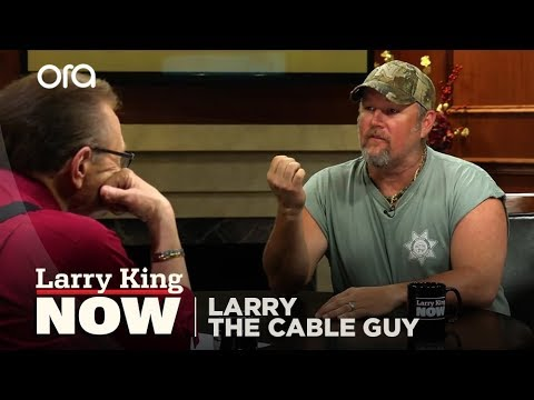 Teach Me Redneck: Larry The Cable Guy Teaches Larry The King How To Talk Like A Redneck