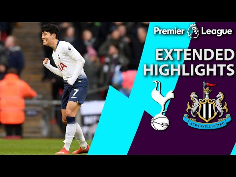 Tottenham v. Newcastle | PREMIER LEAGUE EXTENDED HIGHLIGHTS | 2/2/19 | NBC Sports