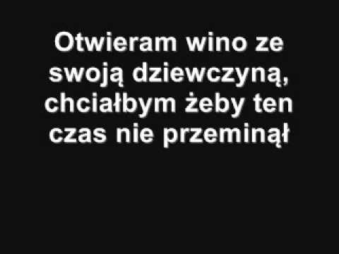 Sidney Polak - Otwieram wino + Tekst