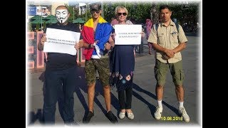 Protest 10 august 2018 - Bacău