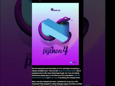 Python on hardware newsletter preview!