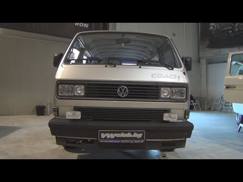 Volkswagen Transporter T3 Coach 1986 Exterior And Interior Youtube