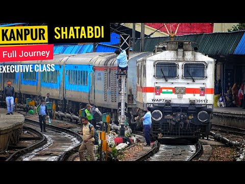 Exclusive Journey KANPUR to NEW DELHI Shatabdi Express Executive Class • Full Coverage