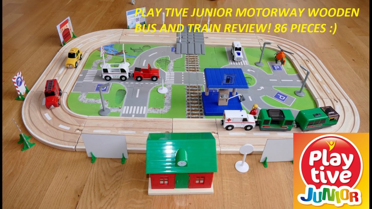 Play Tive Junior Motorway In 86 Pieces Lidl Toy Review