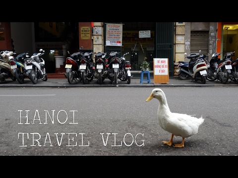 Vietnam Travel Vlog - Hanoi (March 2016)
