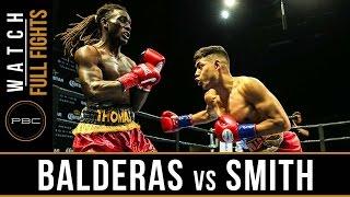 Balderas vs Smith FULL FIGHT: April 9, 2017 - PBC on FS1