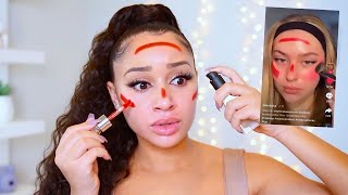 Testing Weird TikTok Makeup Hacks...