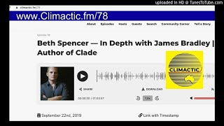 Author James Bradley discusses Clade, The Change YA trilogy & writing in a time of climate change