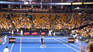 andre agassi vs ball boy 2 points to the ball boy