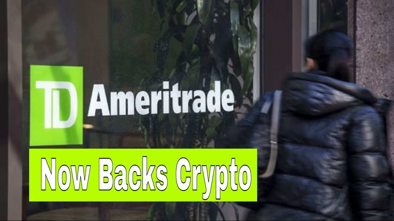BREAKING NEWS | Stock brokerage giant TD Ameritrade bets on a new cryptocurrency exchange !