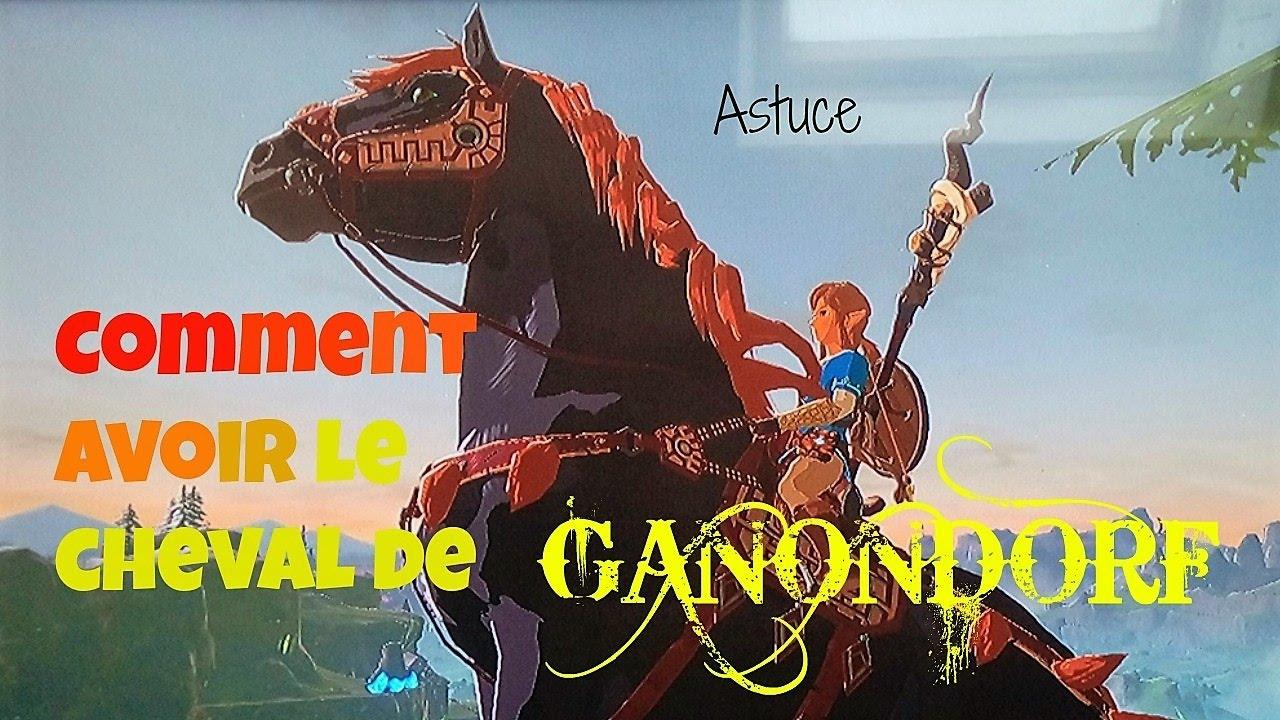 Zelda Breath of the Wild - Le cheval de Ganondorf Astuce