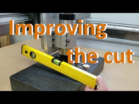 Traming The CNC Router And Final Rigidity Improvements