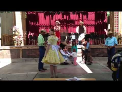 Square Dancing with Cowboy Mickey & Cowgirl Minnie