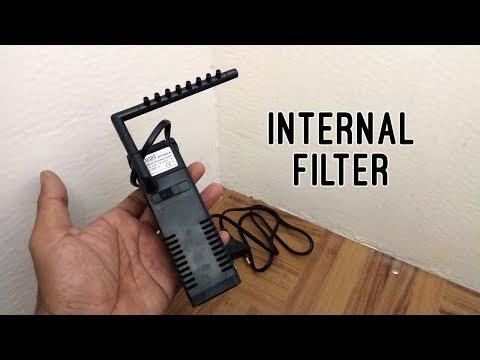 Aquarium Internal Filter Armada SP1000LA   Unboxing And Testing