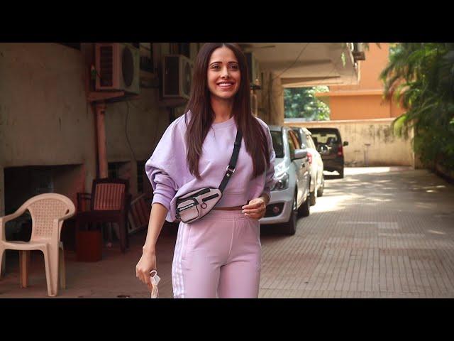 CARE NI KARDA Hit Song Girl Nushrat Bharucha Spotted At A Dance Rehearsal Hall Andheri