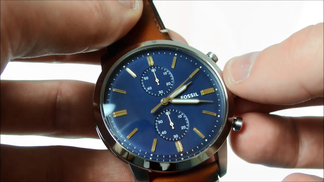 12a368bb0a78 Fossil FS5279 Townsman herenhorloge - YouTube