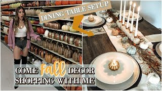 FALL HOME DECOR 2018 HAUL & COME SHOPPING WITH ME