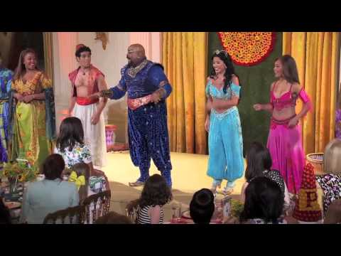 Aladdin Brings First Lady Michelle Obama on a Magic Carpet Ride in White House Performance
