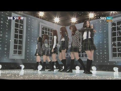【HD繁體中字】 160126 GFRIEND -  Rough @ The Show