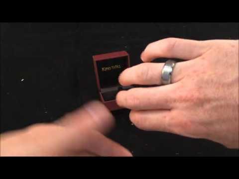 King Will 8mm Men's Tungsten Ring Wedding Band Matte Finish Brush Review