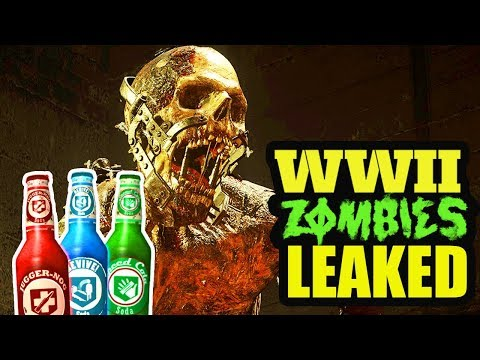 WARNING: WW2 ZOMBIES LEAKED - MAP NAME, ALL PERKS, POWER-UPS & CLASSES DETAILS LEAK!