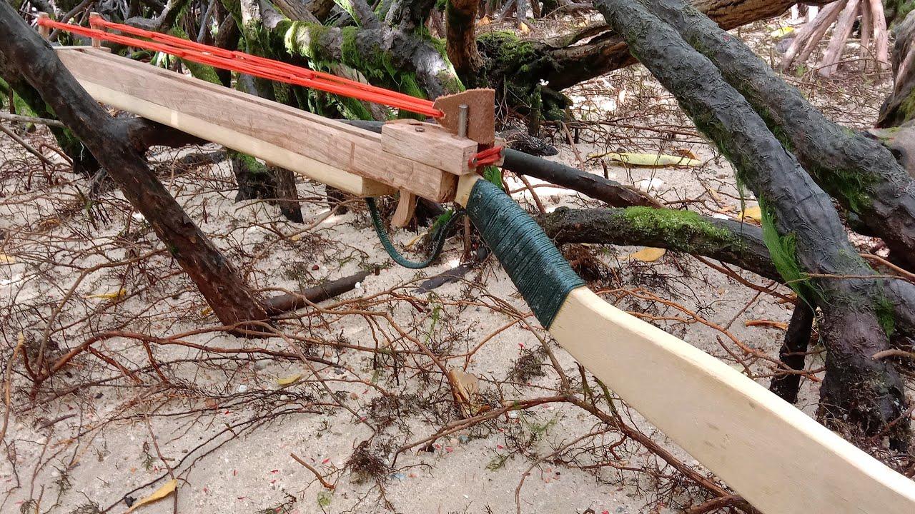 Download Simple crafts from wood waste    Survival slingshot    DIY