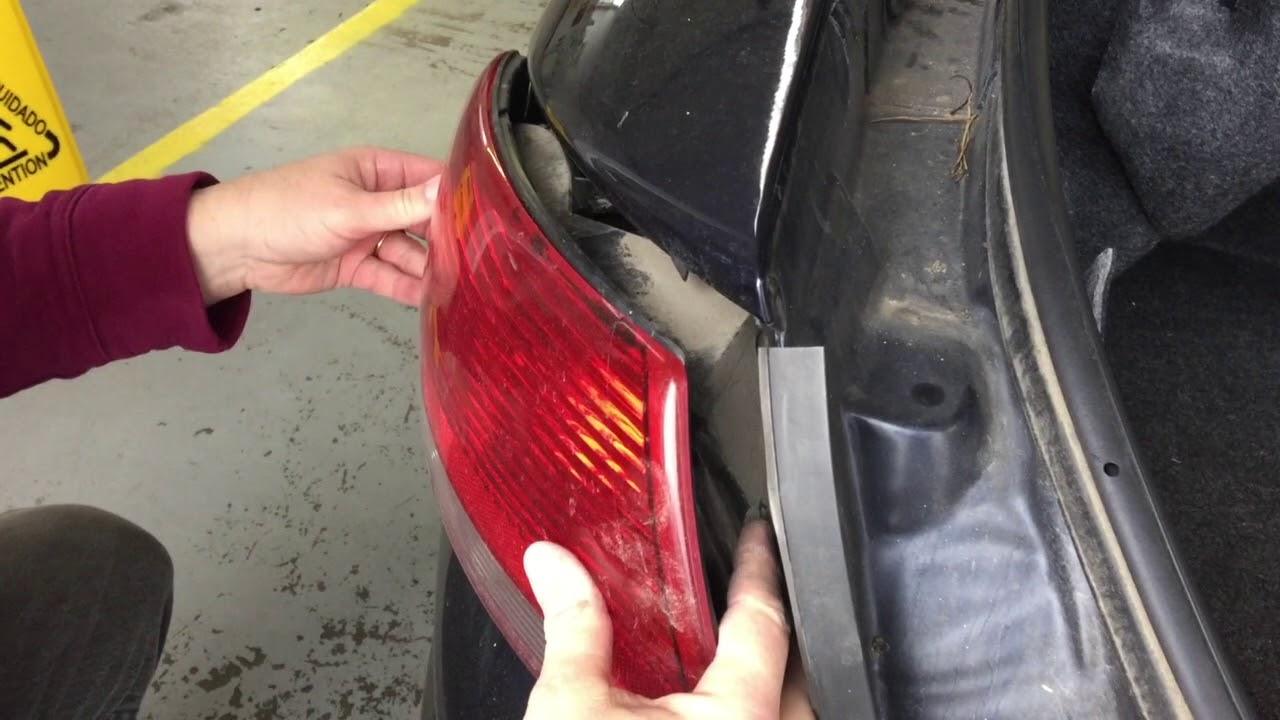 How To Change Your 2001 2006 Chrysler Sebring Tail Light Bulb