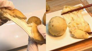 치즈볼 튀김 vs 에어프라이어  #감자 치즈볼 Pota…
