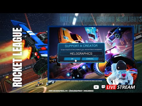 Rocket League Gameplay Highlights with @itsBr3nt 0726   #EpicPartner Support-a-Creator MELOGRAPHICS