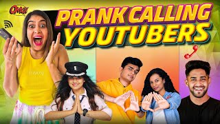 PRANK CALLING YOUTUBERS 😂 ft. Slayy Point, Captain Nick, Thugesh, Neon Man, Neuz Boy | Anisha Dixit