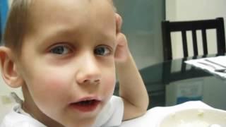 Neuroblastoma warrior Linukas