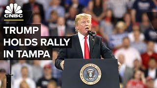 LIVE: President Trump Holds Rally in Tampa, Florida - July 31, 2018