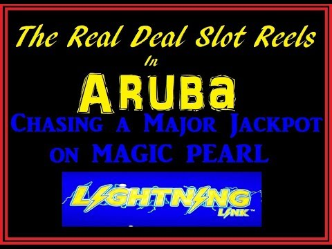 CHASING A MAJOR JACKPOT - LIGHTNING LINK ARUBA