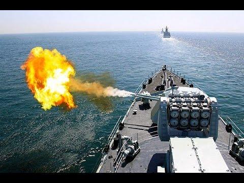 Морской бой России и Грузии