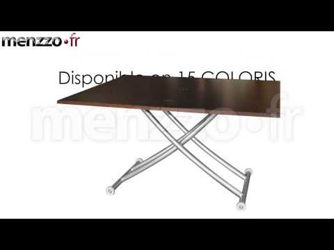 Table Basse Relevable Carrera Youtube