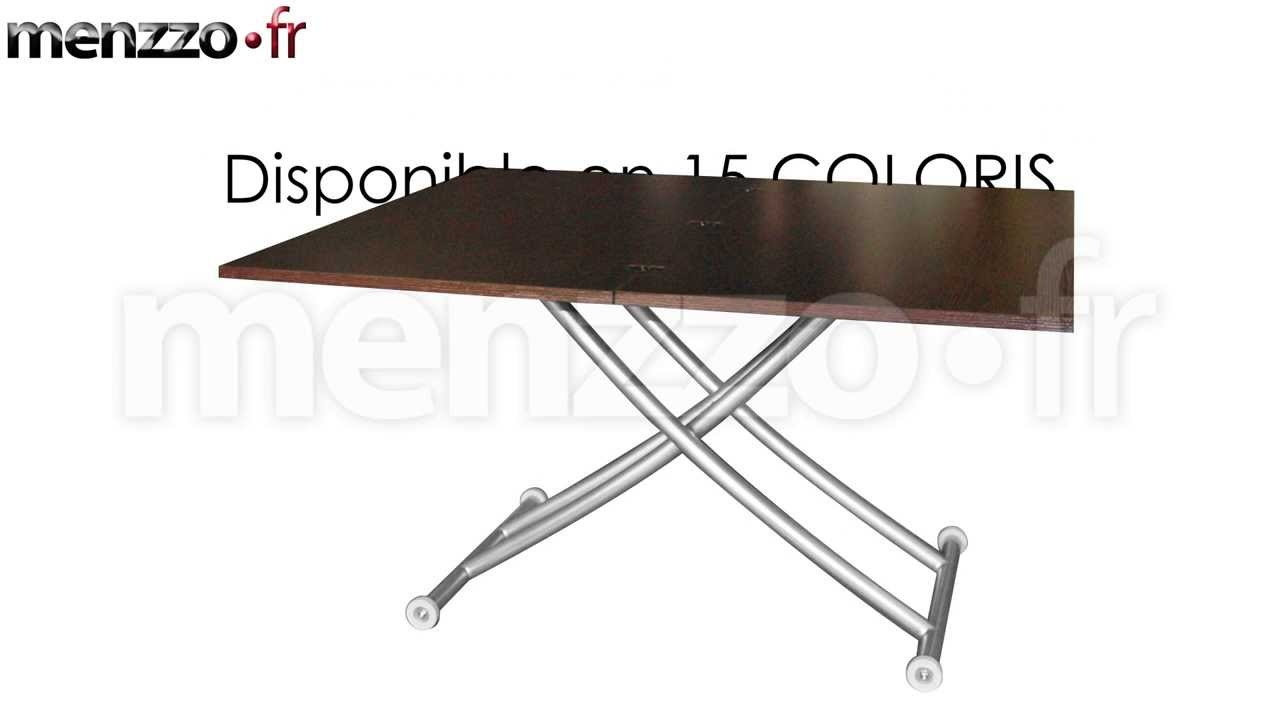 gallery of table basse relevable carrera with table up down extensible. Black Bedroom Furniture Sets. Home Design Ideas