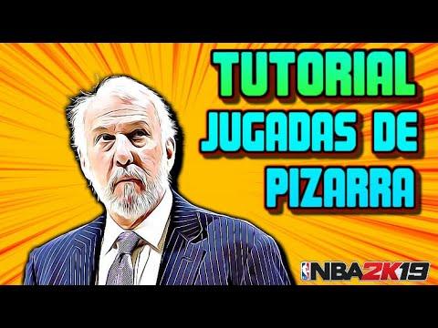 Tutorial JUGADAS de PIZARRA | INICIO | NBA2K19