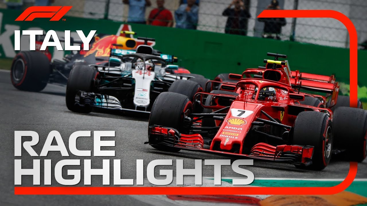 2018 Italian Grand Prix Race Highlights Youtube