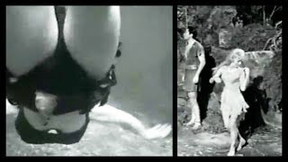 """Very Risque' Swimming Scene In """"Valley Of The Dragons"""" (1961)"""