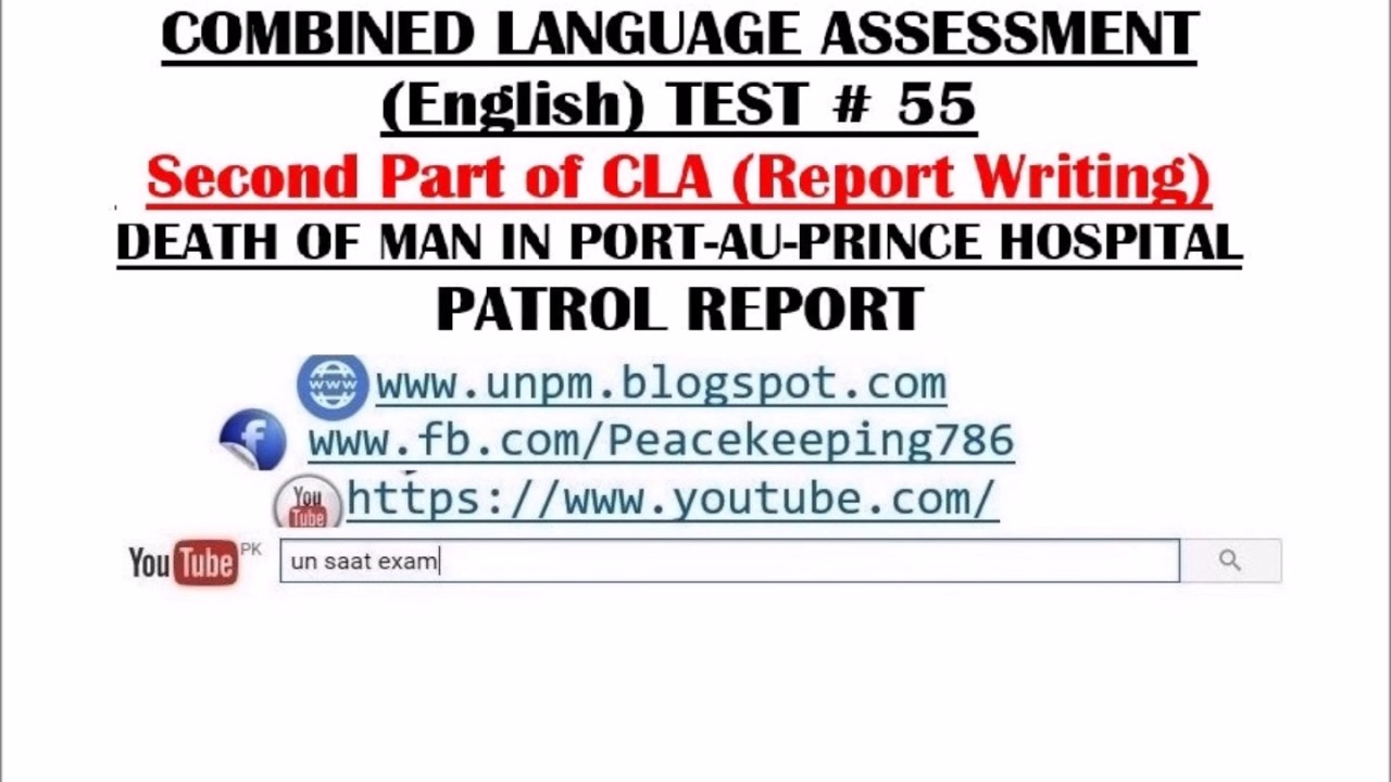 United Nations Peacekeeping Missions: CLA TEST # 55 (Combined
