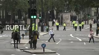 Live from London after car crashes into Houses of Parliament barrier